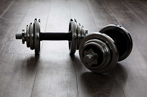 Black Adjustable Dumbbells