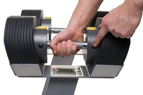 Adjustable Dumbbell Grip